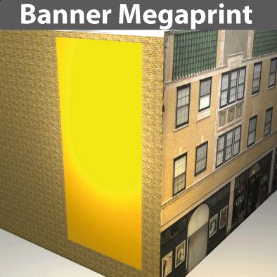 Citmax- Banner/Netz Megaprints aus PVC- u. Stoff-Gewebe