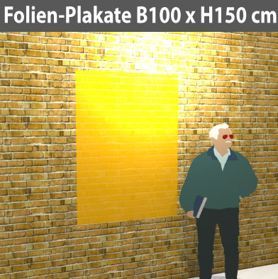 Folien-Plakat-100x150