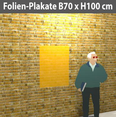 Folien-Plakat-70x100
