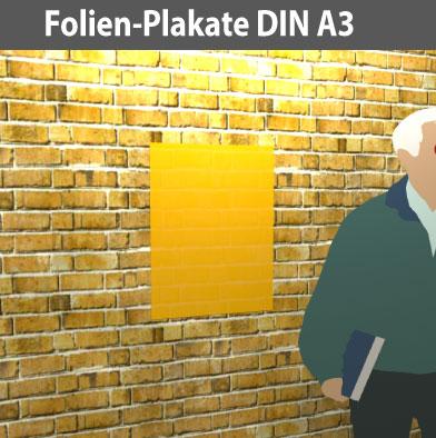 Folien-Plakat-DIN-A3