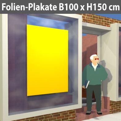 Folienplakate-100x150