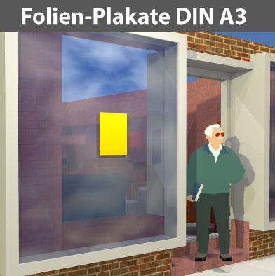 Folienplakate-DIN-A3