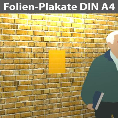 Folienplakate-DIN-A4