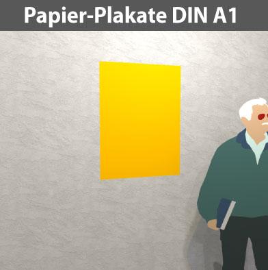 Papier-Plakat-DIN-A1