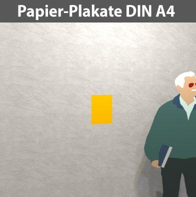 Papier-Plakat-DIN-A4