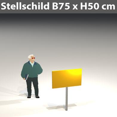 Stellschild-75x50