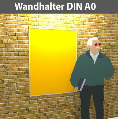 Wandhalter-DIN-A0