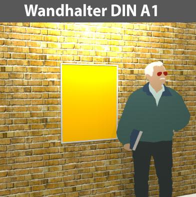 Wandhalter-DIN-A1