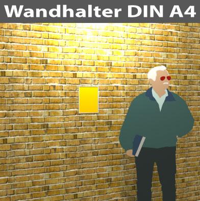 Wandhalter-bis-A4