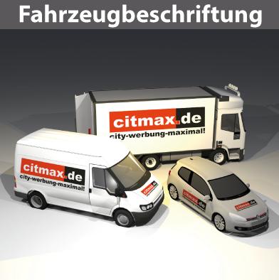 Citmax-Fahrzeugbeschriftungen PKW-Van-Bus-LLKW-LKW