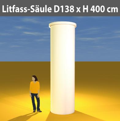 Litfass-Säulen D 138 cm