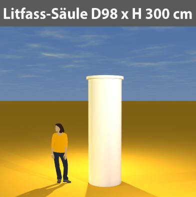 Litfass-Säulen D 98 cm