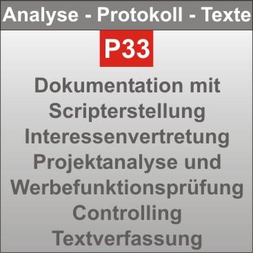 P33-Analyse