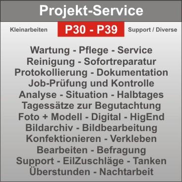 Projekt-Service - Wartung - Pflege - Konfektionierung - Logo/Foto + sonstiges...