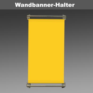 Wandbanner-Halter