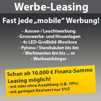 Citmax-Leasing für Ihre Werbung!. Mtl. kleines Geld für große Wirkung!